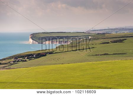 Westward vista from Beachy Head