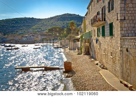 Island Of Vis Mediterranean Waterfront