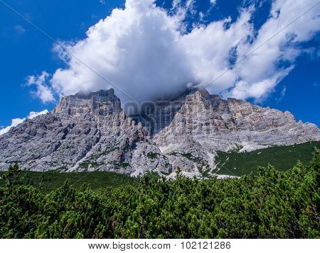 Monte Pelmo And Pelmetto - Dolomites - Italy