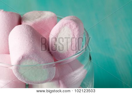 Quantity Of Pink Marshmallows In Jar