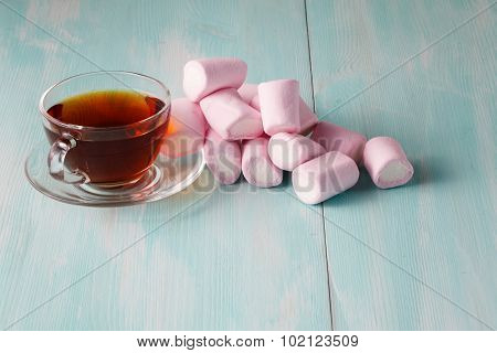 Scattered Pink Marshmalow