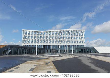 City hall of Viborg in Denmark