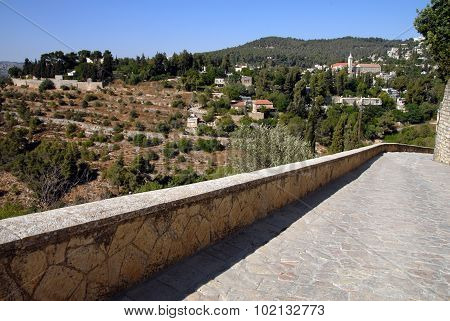 Ein Karem Village In Jerusalem  Israel