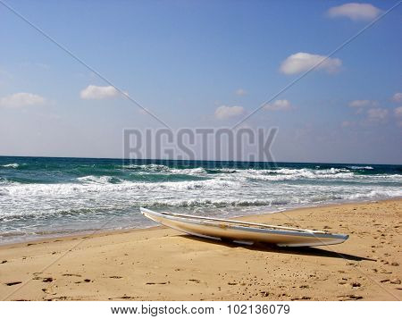 Travel Photos Of Israel - Mediterranean Sea Coastline