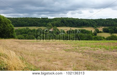 Countryside Of Perche, Close To Mortagne-au-perche In France