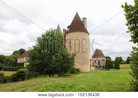 Manoir De La Vove In The Natural Park Of Perche, Near Mortagne In France