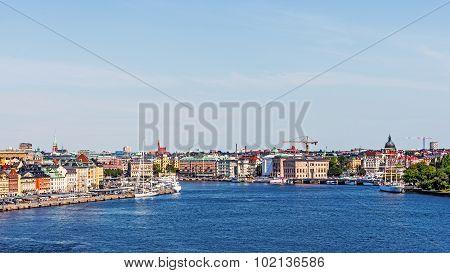 Panorama with Gamla stan