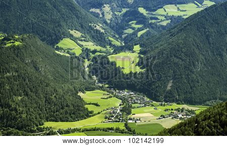 small village in the austrian alps