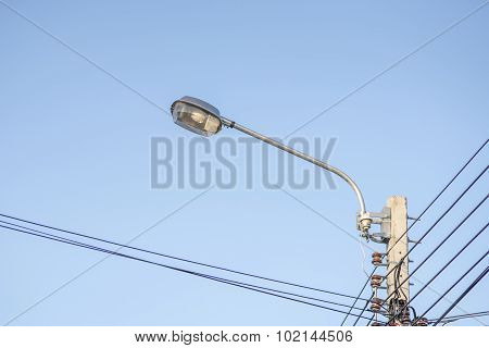 Lamp Post Electricity