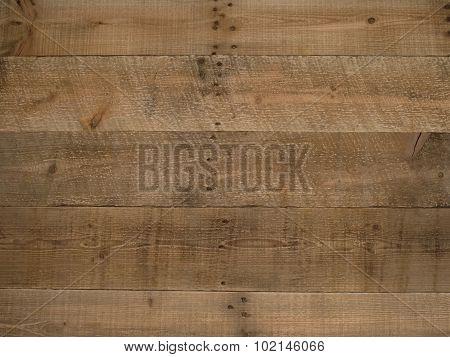 Rustic Old Brown Wood Background