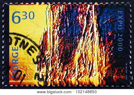 Postage Stamp Norway 2000 Power And Energy, By Marianne Heske