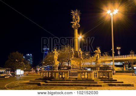 Trinity Column In Bratislava