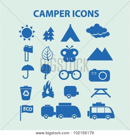 camper icons