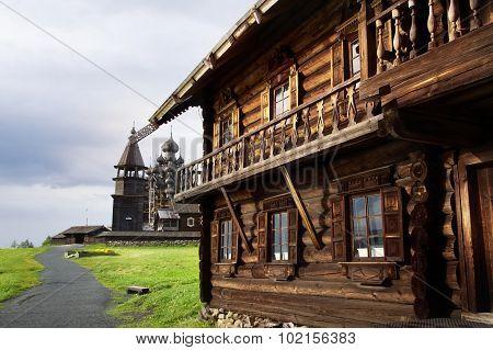 Rural Landscape On A Kizhi Island, Russia