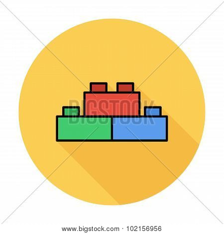 Building block icon