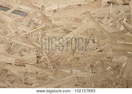 Texture Of Wooden Osb Board