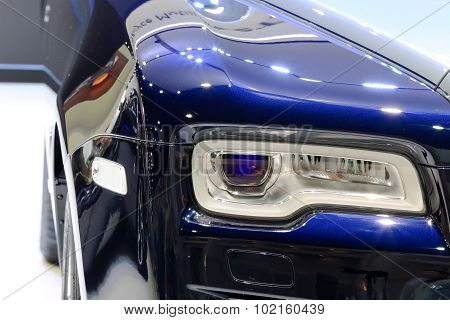 Headlights Of Rolls Royce