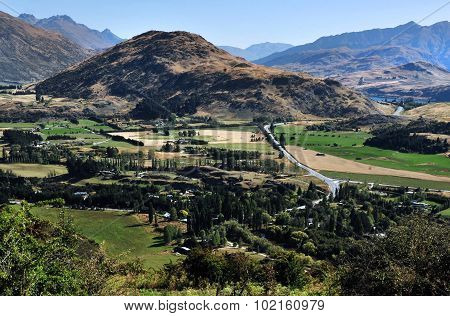 View Of South Island, New Zealand