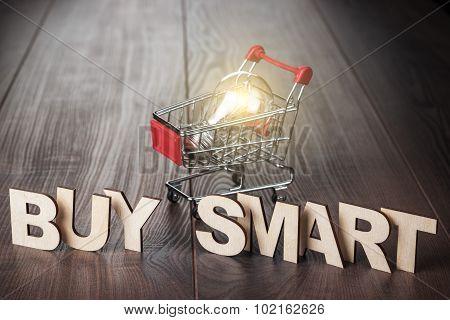 buy smart concept