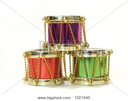 Three Christmas Drums