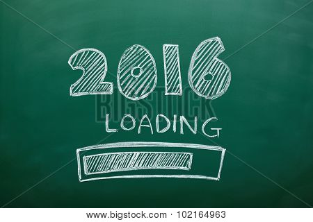 New Year Loading Concept