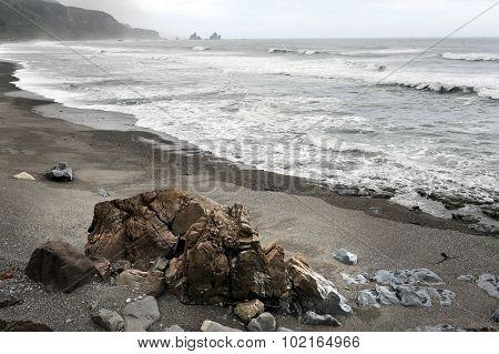 West Coast Beach New Zealand
