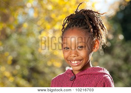 African American Happy Child
