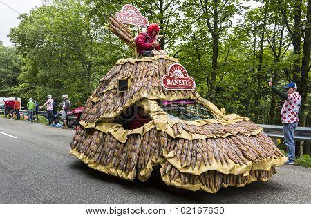 Banette Vehicle In Vosges Mountains - Tour De France 2014