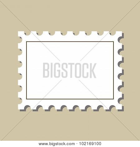 vector  stamp  postmark template