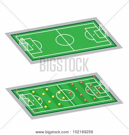 soccer-football fields