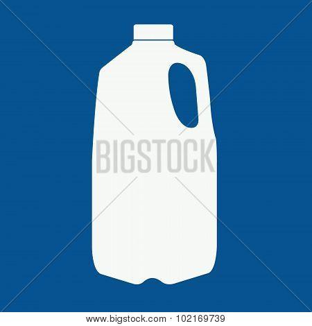 Milk or juice logo.