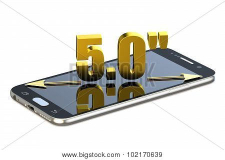 Smartphone With 5.0 Inches Diagonal