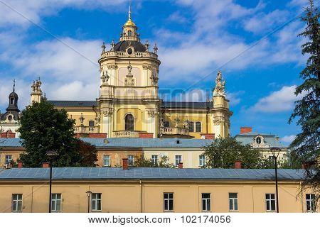 St. George's Cathedral In Lviv, Ukraine
