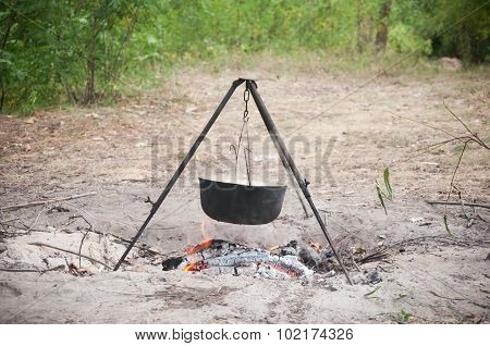 Cooking On A Fire