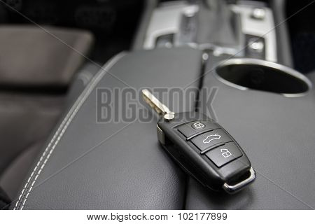 Key To A Luxury Car.