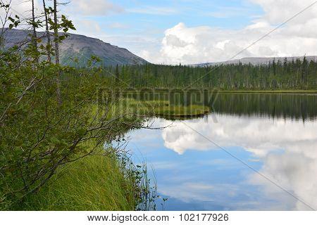 Taiga Lake.