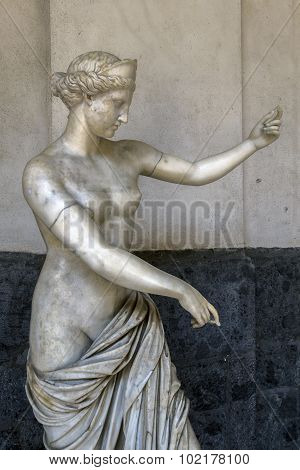 Ancient Roman Statue Of Aphrodite