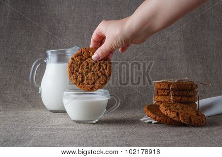 Dunk Oat Cookies