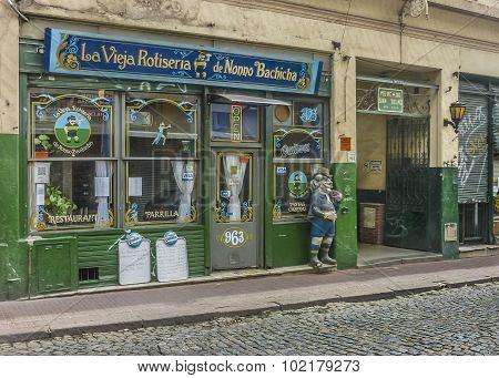 Traditional Delicatessen In San Telmo Buenos Aires