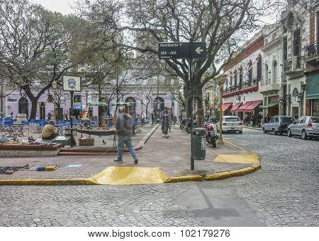 Traditional Fair In San Telmo Buenos Aires