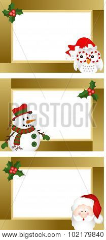 Christmas Blank Labels