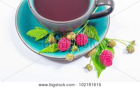 Tea Raspberry - Closeup.