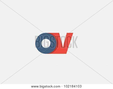 Letter V, Logo Icon Design Template. Vector Business Elements.