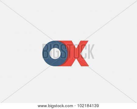Letter X, Logo Icon Design Template. Vector Business Elements.