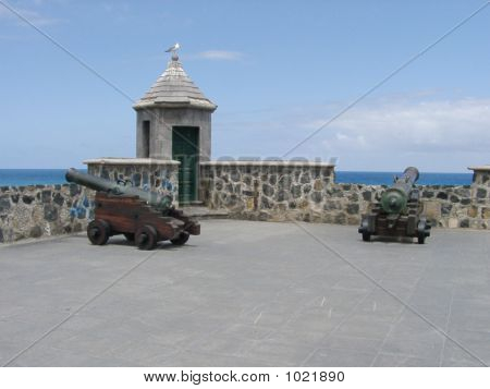 Cannons In Tenerife