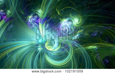 Artistic background made of fractal