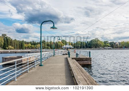 Pier At Coulon