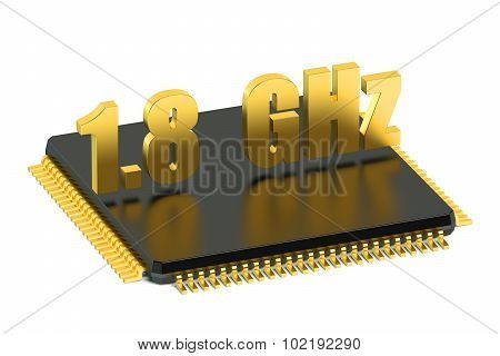 Cpu Chip For Smatphone And Tablet 1.8 Ghz Frequency