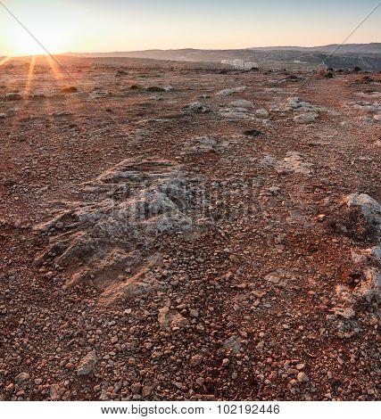 Martian Sunrise
