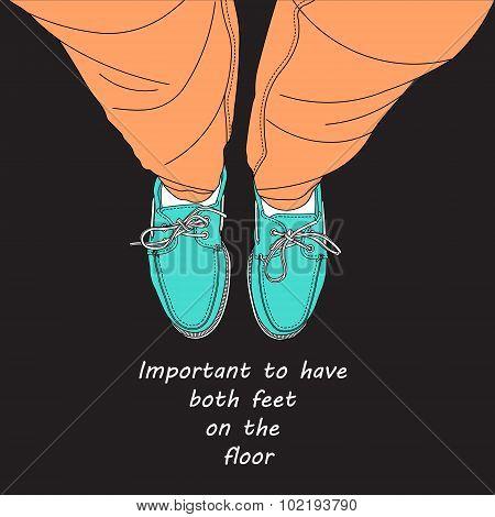 Both Feet On The Floor.